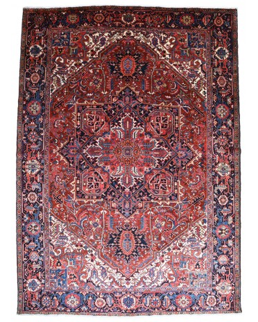 44855 -  Antique Persian Heriz